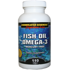 Fish Oil Omega-3 Softgels 110 CT